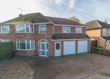 Thumbnail 4 bed semi-detached house for sale in Willow Park Drive, Wigston