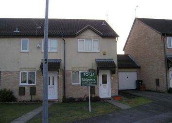 Thumbnail 2 bed end terrace house to rent in Bramwell Close, Swindon