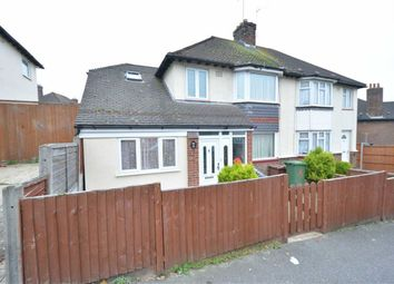 Thumbnail 4 bed semi-detached house to rent in Lockyer Road, Purfleet, Essex