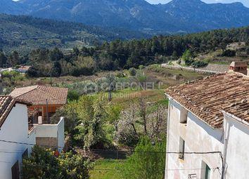 Thumbnail Town house for sale in Tollos, Costa Blanca North, Costa Blanca, Valencia, Spain