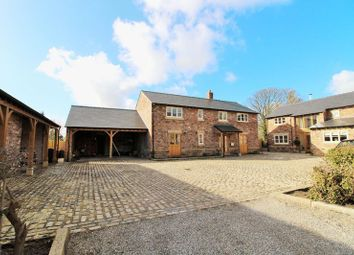 Thumbnail 4 bed detached house for sale in Marsh Lane, Longton, Preston