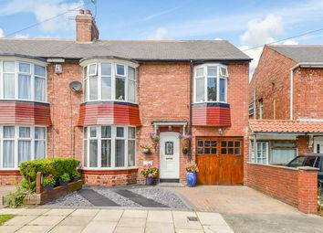 Thumbnail 3 bed semi-detached house for sale in Walwick Road, Whitley Bay
