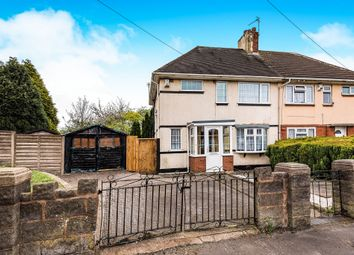 Thumbnail 3 bed semi-detached house for sale in Dangerfield Lane, Darlaston, Wednesbury