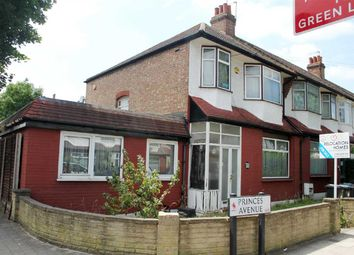 Thumbnail 4 bedroom end terrace house for sale in Princes Avenue, London