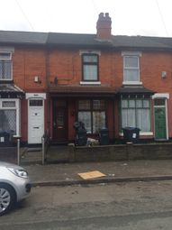 Thumbnail 2 bedroom terraced house for sale in Solihull Road, Sparkhill, Birmingham