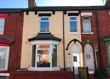 Thumbnail 3 bed terraced house to rent in Collingwood Road, Hartlepool