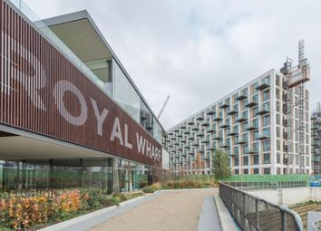Thumbnail 1 bed flat for sale in Meridian Building, Royal Wharf, Canary Wharf, London