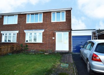 Thumbnail 3 bed semi-detached house to rent in Windsor Drive, Stanley