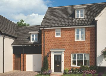 Thumbnail 4 bed link-detached house for sale in The Street, Bramford, Suffolk