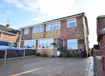 Thumbnail 3 bed semi-detached house for sale in Slade Road, Holland-On-Sea, Clacton-On-Sea