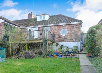 Thumbnail 2 bed semi-detached bungalow for sale in Hellesdon Road, Hellesdon, Norwich