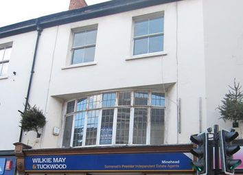 Thumbnail 4 bed flat for sale in Park Street, Minehead