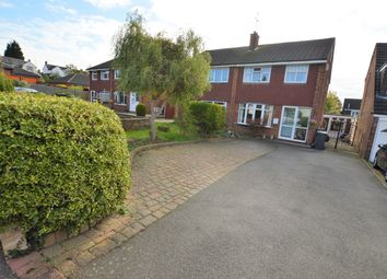Thumbnail 3 bed semi-detached house for sale in Keenan Close, Leicester