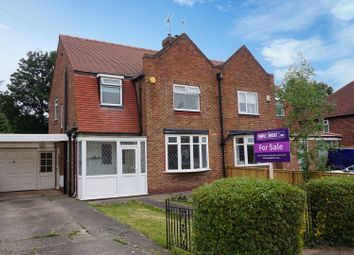 Thumbnail 3 bedroom semi-detached house for sale in The Knoll, York