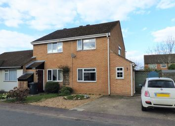 Thumbnail 2 bed semi-detached house for sale in Derwent Rise, Flitwick