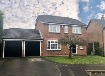 Thumbnail 4 bed detached house for sale in Marigold Close, Oakwood, Derby