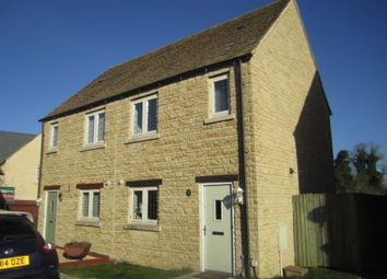 Thumbnail 2 bedroom semi-detached house to rent in The Wern, Lechlade