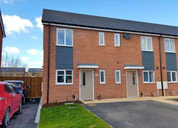 Thumbnail 2 bed terraced house for sale in Arnfield Drive, Hilton, Derby