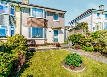 Thumbnail 3 bed semi-detached house for sale in Budshead Road, Crownhill, Plymouth