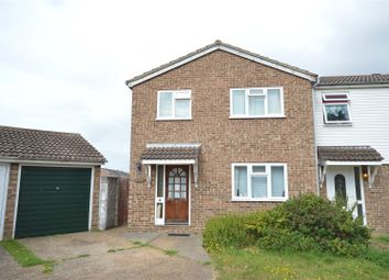 Thumbnail 3 bed semi-detached house for sale in Banister Close, Clacton-On-Sea