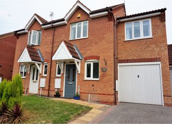 Thumbnail 3 bed semi-detached house for sale in Stanier Drive, Thurmaston