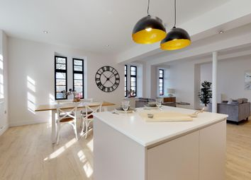 Thumbnail 2 bed flat for sale in Dudding Court, Craigie Drive, The Millfields, Stonehouse, Plymouth, Devon