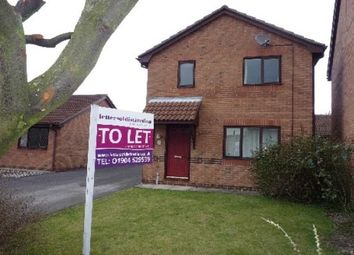 Thumbnail 3 bedroom detached house to rent in Norway Drive, York