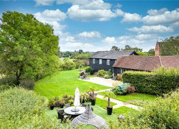 Thumbnail 4 bed barn conversion for sale in Trout Grange, Henhurst Cross Lane, Dorking, Surrey