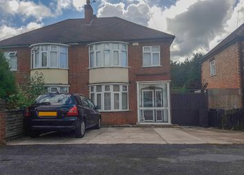 Thumbnail 3 bed semi-detached house for sale in Aberdale Road, Leicester
