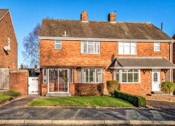 Thumbnail 3 bed semi-detached house for sale in Moorland Road, Cannock