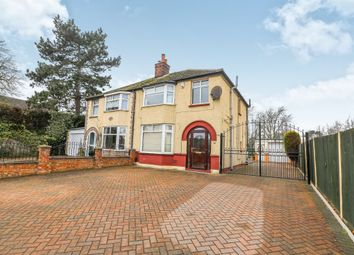Thumbnail 3 bed semi-detached house for sale in Woburn Road, Kempston, Bedford