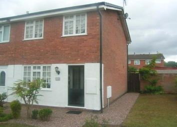 Thumbnail 2 bed terraced house to rent in Nash Avenue, Wolverhampton