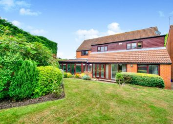 Thumbnail 5 bedroom detached house for sale in Solar Court, Great Linford, Milton Keynes