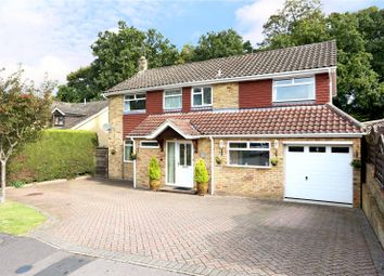 Thumbnail 4 Bed Detached House For Sale In Phillips Close Headley Hampshire