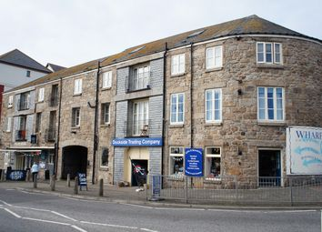 Thumbnail 1 bed flat for sale in Wharf Road, Penzance