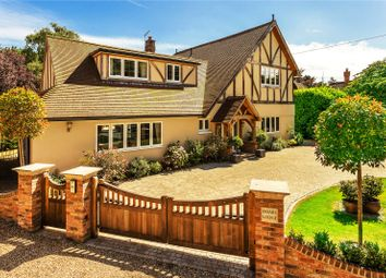 Thumbnail 4 bed detached house for sale in Chapel Road, Oxted, Surrey