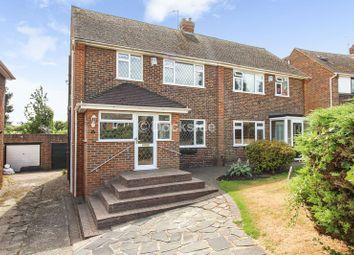 Thumbnail 3 bed semi-detached house for sale in Sharfleet Drive, Strood, Rochester