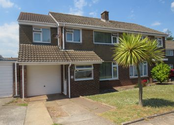 Thumbnail 4 bedroom semi-detached house for sale in Haytor Avenue, Paignton