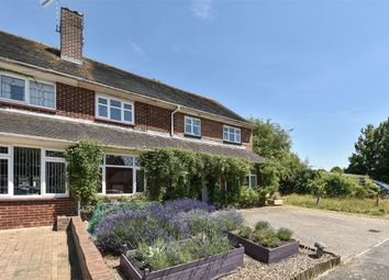 Thumbnail 4 bed semi-detached house for sale in Barton Stacey, Winchester, Hampshire