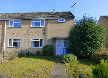 Thumbnail 2 bedroom end terrace house to rent in Girton Close, Mildenhall, Bury St. Edmunds