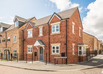 Thumbnail 3 bed detached house for sale in Rotherdale Court, Walkergate, Newcastle Upon Tyne