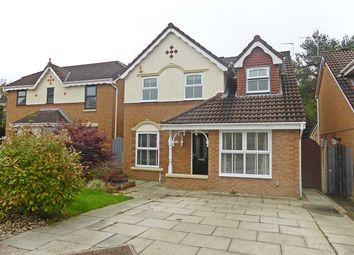 Thumbnail 4 bed detached house to rent in Barbondale Close, Great Sankey, Warrington
