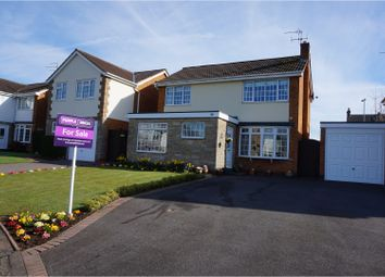 Thumbnail 3 bed detached house for sale in Bankfield Drive, Leamington Spa