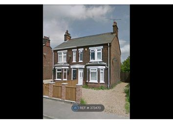 Thumbnail 3 bed semi-detached house to rent in Hardwick Road, King's Lynn