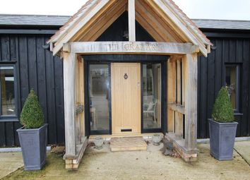 Thumbnail 4 bed barn conversion for sale in Bluegate Lane, Capel St Mary, Ipswich, Suffolk