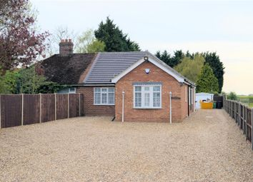 Thumbnail 3 bed semi-detached bungalow for sale in Lynn Road, Setch, King's Lynn