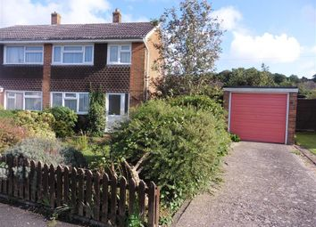 Thumbnail 3 bed semi-detached house for sale in Winchester Close, Newport, Isle Of Wight