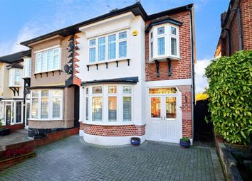 Montfort Gardens, Ilford, Essex IG6. 4 bed semi-detached house