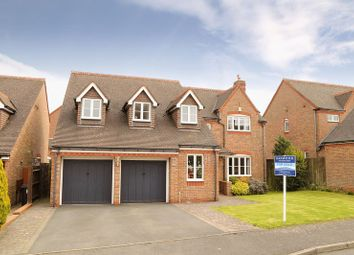 Thumbnail 5 bedroom detached house for sale in Coalport Close, Broseley