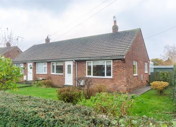 Thumbnail 2 bed semi-detached bungalow for sale in Cadger Row, Back Lane, Burton Pidsea, Hull